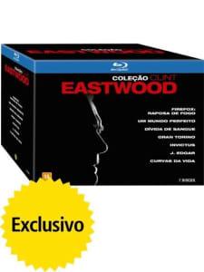 Blu-ray Coleção Clint Eastwood - 7 Discos
