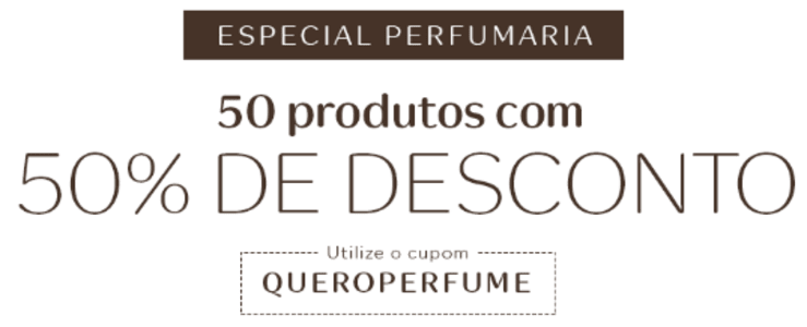 8a8771f30 50 Perfumes com 50% de Desconto na Natura