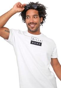 Camiseta Billabong Decal Branca
