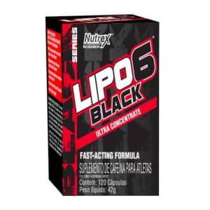 Termogênico Lipo 6 Black Ultra Contrentrado 60 Capsulas - Nutrex - Natural