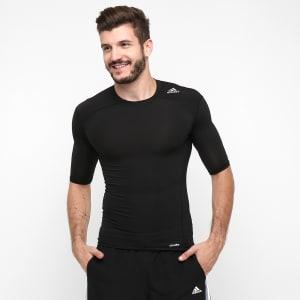 Camiseta de Compressão Adidas Tf Base Masculina