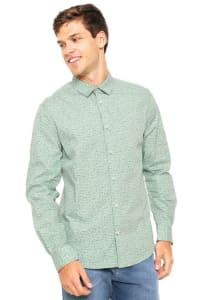 Camisa Forum Estampada Verde