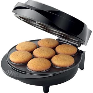 Máquina de Cupcake Mondial Maker Pratic Cupcake Preto/Inox