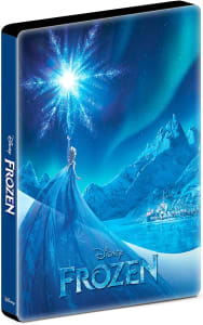 Blu-ray Steelbook Frozen: Uma Aventura Congelante
