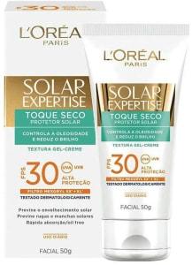 [Prime] Protetor Solar Facial com Toque Seco Fps 30, L'Oréal Paris, Branco, 13