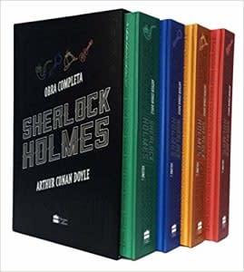 Box Sherlock Holmes (Português) Capa dura