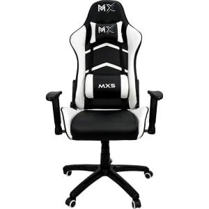 Cadeira Gamer MX5 Giratoria Preto/Branco - Mymax