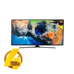 "SMART TV LED 40"" Samsung 4K, RGB, UHD,HDR Premium,Quad Core, UHD Diming, c/ Conversor Digital, 3 HDMI 2 USB, Wifi Integrado, 20W, 120hz-UN40MU6100GXZD"
