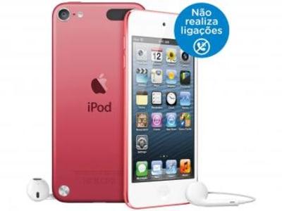 iPod Touch Apple 32GB Tela Multi-Touch Wi-Fi - Bluetooth Câmera 5MP MC903BZ/A Rosa