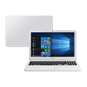"Notebook Samsung Intel Core i3 4GB 1TB Tela 15,6"" Windows 10 Home Essentials NP350XAA-KF4BR Branco"