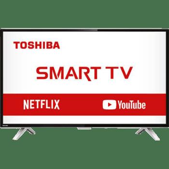 "Smart TV LED 32"" Toshiba 32L2800 HD com Conversor Integrado 3 HDMI 2 USB Wi-Fi 60Hz - Preta"