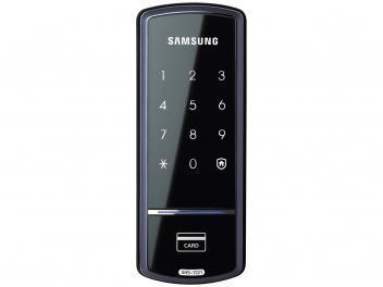Fechadura Digital de Porta Samsung - SHS-1321 com Cartão RFID com Senha - Magazine Ofertaesperta