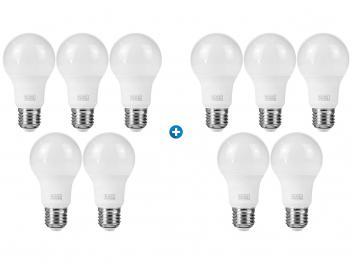 Kit Lâmpada LED 6W 6500K Branca Black + Decker - Bulbo 10 Unidades - Magazine Ofertaesperta