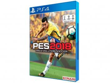 PES 2018 para PS4 - Konami - Magazine Ofertaesperta