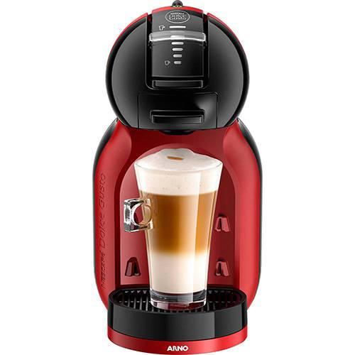 Cafeteira Expresso Arno Nescafé Dolce Gusto Mini Me DMM8 1 Xícara 1340W Preta e Vermelha