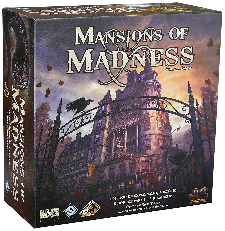 Jogo Mansions Of Madness - Galápagos Jogos