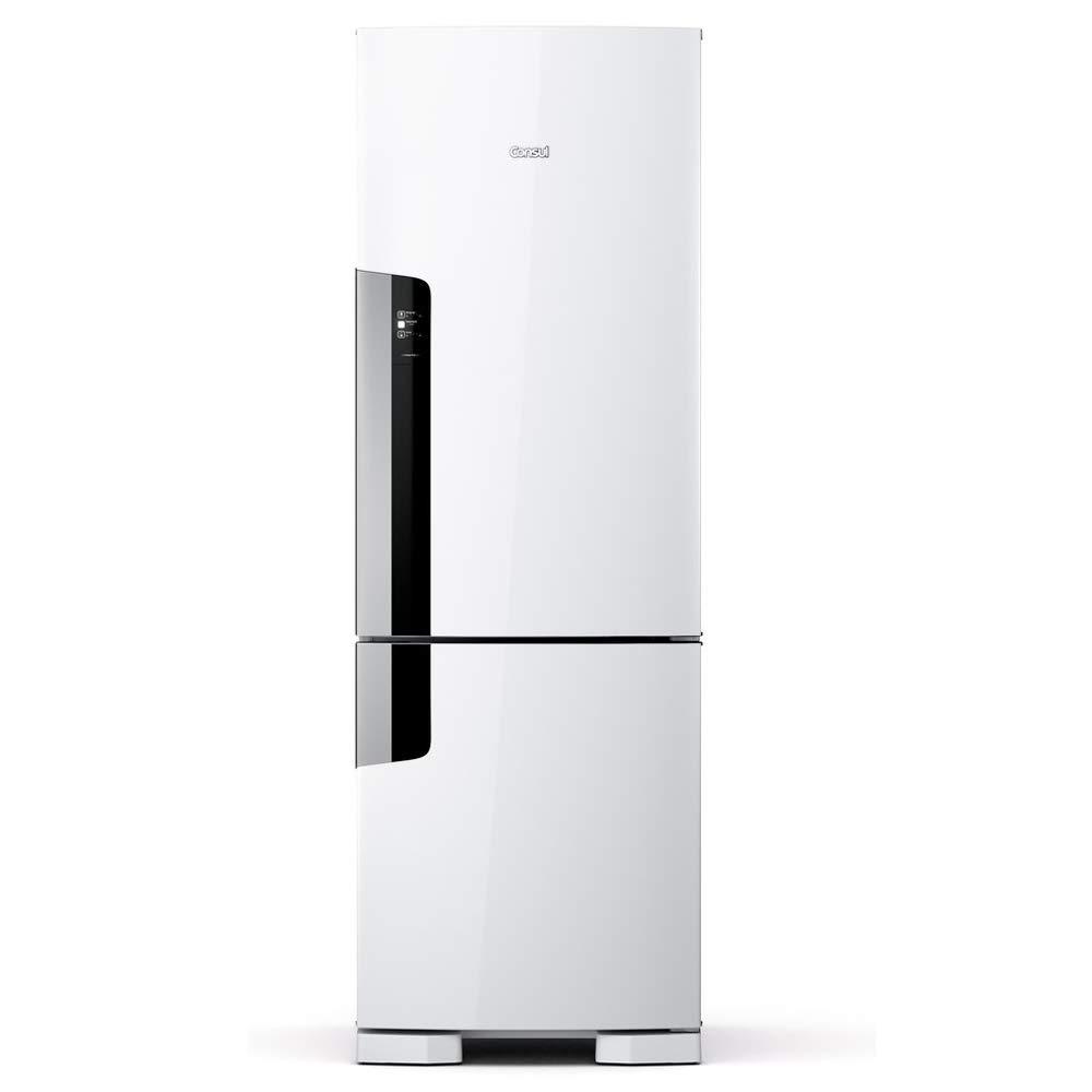 Geladeira Consul Frost Free Duplex 397 litros Branca com freezer embaixo 110V