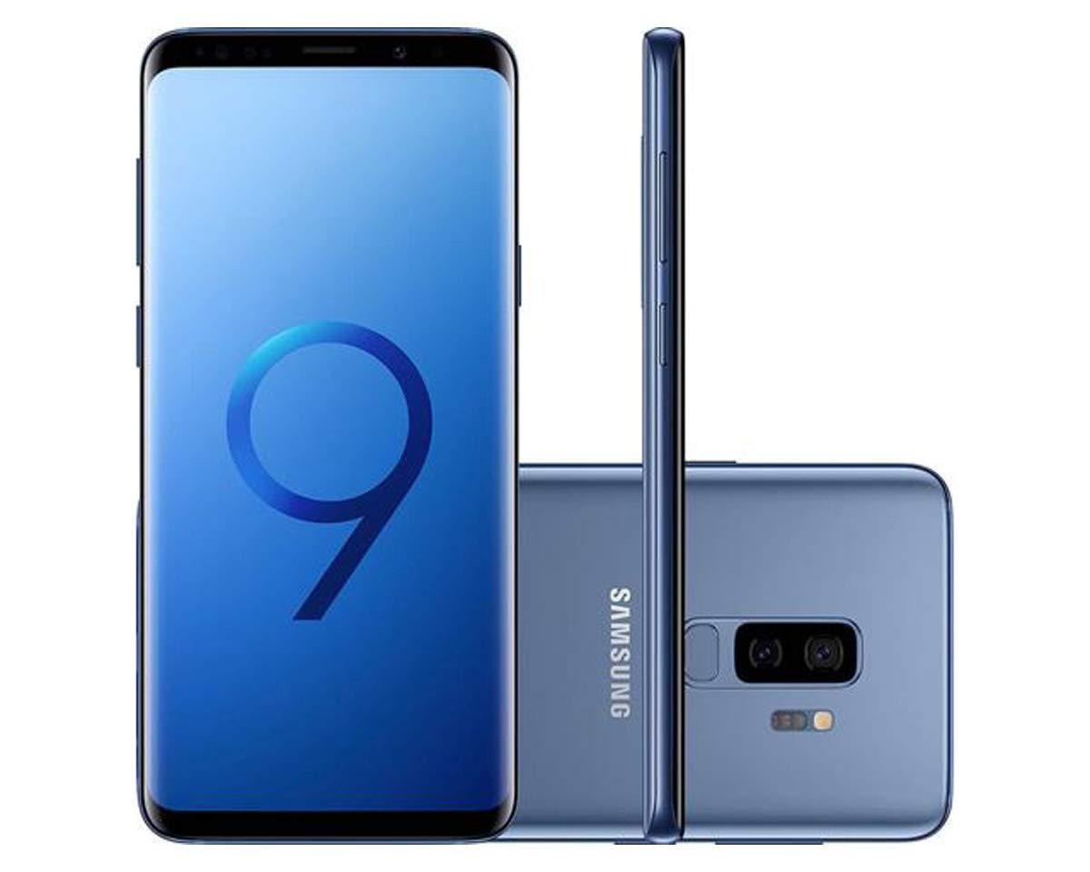 Smartphone, Samsung, Galaxy S9+ SM-G9650ZBKZTO, 128 GB, 6.2'', Azul