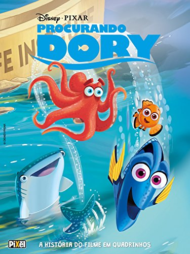 Procurando Dory (HQs Disney) eBook Kindle