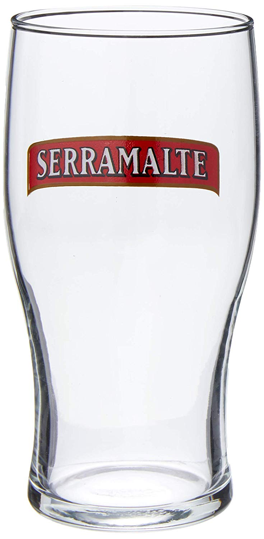 Serramalte Jogo com 2 Copos para Cerveja Ambev Transparente 340Ml