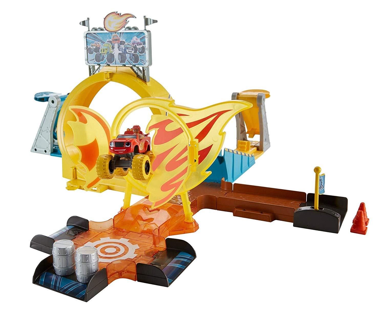 Conjunto Pista Axel City Blaze, Mattel, Amarelo