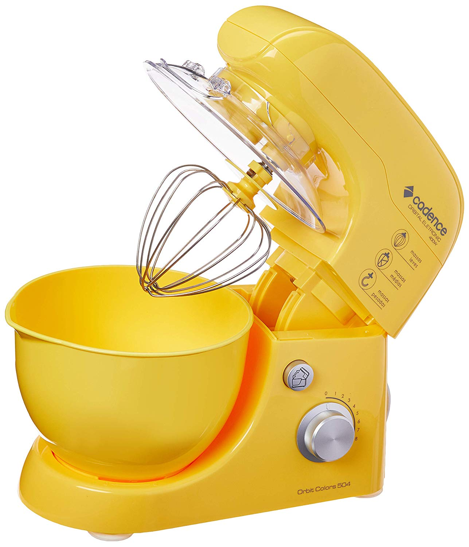 Batedeira Orbital Orbit Colors, Cadence Bat504-127, Amarelo Cadence Amarelo 110V
