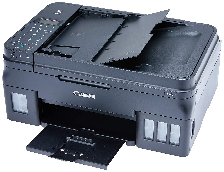 Impressora Multifuncional Canon Maxx Tinta G4100 Jato de Tinta Preto