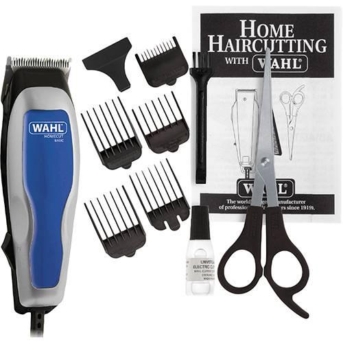 Máquina de Cortar Cabelo Wahl Clipper Home Cut Basic 9155-2555 5 pentes