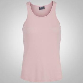 [Rosa claro ou escuro] Camiseta Regata Fila Lana - Feminina