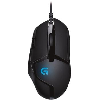Mouse Gamer Logitech Ultra-rápido G402 Hyperion Fury FPS 4000DPI Preto