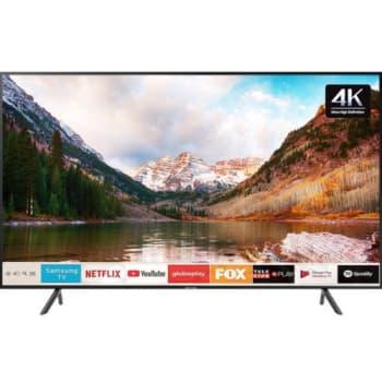 "Smart TV LED 43"" UHD 4K Samsung 43RU7100 3 HDMI 2 USB Wi-Fi Bluetooth"