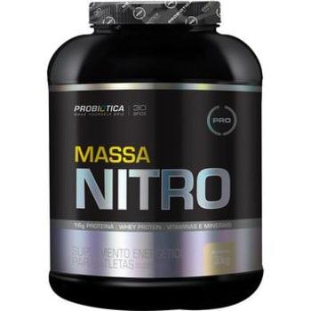 Massa Nitro Probiótica Sabor Baunilha 3Kg