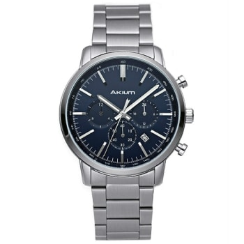 Relógio Akium Masculino Aço - 1X56GB08-VCSS-VD33