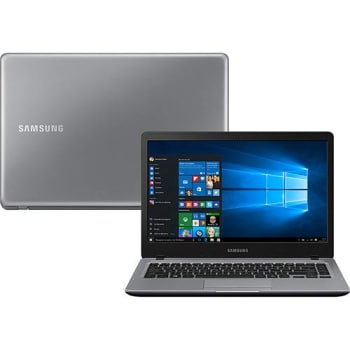 "Notebook Samsung Expert X22s Intel Core i5 8GB 1TB Tela LED HD 14"" Windows 10 - Cinza"