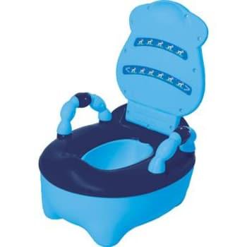 Troninho Anatômico Fazendinha Musical Azul Prime Baby