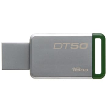 Pen Drive Kingston DataTraveler USB 3.1 16GB - DT50/16GB - Verde