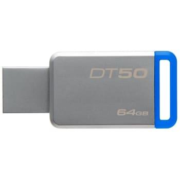 Pen Drive Kingston DataTraveler USB 3.1 64GB - DT50/64GB - Azul