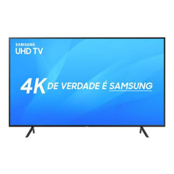 "Smart TV Led 43"" Samsung Ultra HD 4k 43NU7100 com Conversor Digital 3 HDMI 2 USB Wi-Fi HDR Premium Smart Tizen"