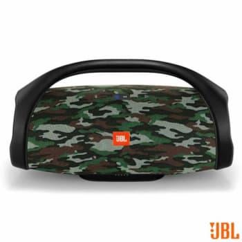 Caixa de Som Bluetooth JBL com 60W de Potência, Boombox Camuflada - LBOOMBOX