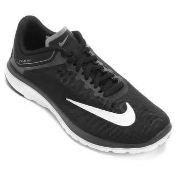 0ea7bbbc9c Tênis Nike Fs Lite Run 4 Masculino - Preto e Branco em Promoção no ...