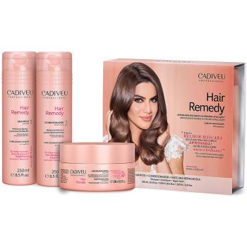 768d97c53 HomeCabelosKitsCadiveu ProfessionalKit Cadiveu Hair Remedy Shampoo 250ml + Condicionador  250ml + Máscara 200ml - Incolor Kit Cadiveu Hair Remedy Shamp