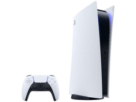 PlayStation 5 Digital Edition 2020 Nova Geração - 825GB 1 Controle Branco Sony - Magazine Ofertaesperta