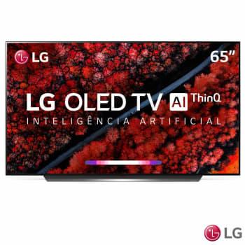 "Smart TV 4K LG OLED AI 65"" Ultra HD com Contraste Infinito, 4K Cinema, WebOS 4.5 e Wi-Fi - OLED65C9PSA"