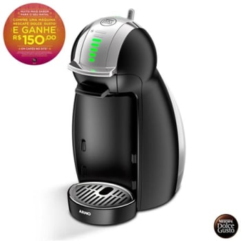 Maquina Nescafe Dolce Gusto Genio 2 Arno com 15 bar, Multibebidas e Sistema Thermoblock - Preto - DNG0 - ARDNG0