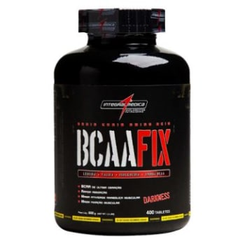 BCAA Fix Darkness Auxilia Na Produção de Energia (Complexo de Aminoácidos) - 400 Tabletes - IntegralMedica