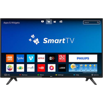 "Smart TV LED 32"" Philips 32PHG5813/78 HD 2 HDMI 2 USB Preta com Conversor Digital Integrado"