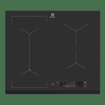 Cooktop de Indução 4 Zonas com Sense Fry Preto Electrolux (IE6SF) - 220v