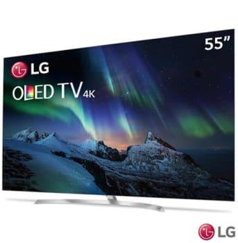 """Smart TV 4K LG OLED 55"""" Ultra HD com Controle Smart Magic, WebOS 3.5, Dolby Atmos e Wi-Fi - OLED55B7P - LGOLED55B7P"""