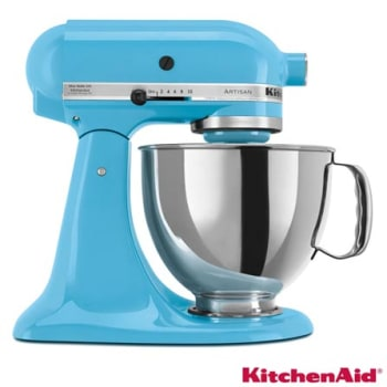 [Diversas cores] Batedeira KitchenAid Stand Mixer com 10 Velocidades 275W Crystal Blue - KEA33