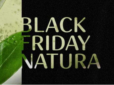 Natura em clima de Black Friday!!! Descontos progressivos de 30%; 40% até 50% + CUPOM 10%